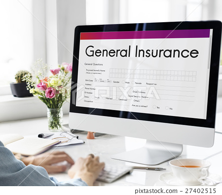 General Insurance Rebate Form Information COncept 27402515