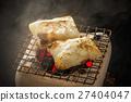 年糕 炭火 刚出炉 27404047