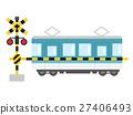 ทางข้ามรถไฟ,รถไฟ,ราง 27406493