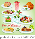 French cuisine icon for restaurant menu design 27406557