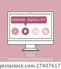 computer, equality, fair 27407417