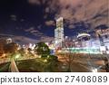 덴노지 공원에서 볼 아베노바시 터미널 빌딩의 야경 27408089
