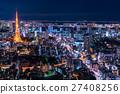 東京夜景 27408256