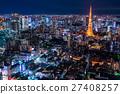 東京夜景 27408257