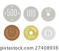 現金 錢 錢幣 27408936