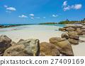 背景 海灘 海洋 27409169