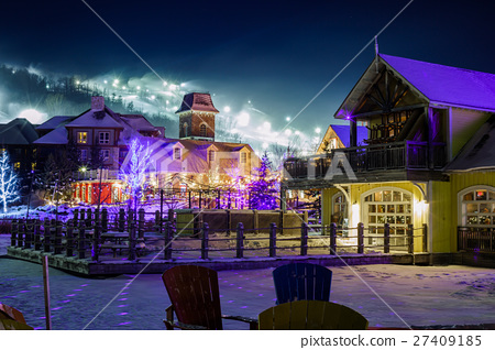 Blue Mountain Village in winter 27409185