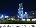 덴노지 공원에서 볼 아베노바시 터미널 빌딩의 야경 27409707