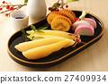 herring roe, datemaki, kamaboko 27409934