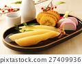 herring roe, datemaki, kamaboko 27409936