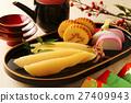 鯡魚子 伊達巻 魚糕 27409943