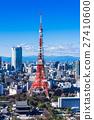 東京塔和城市景觀 27410600