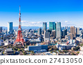 Tokyo Tower and Urban Landscape 27413050