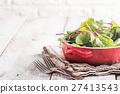 Fresh chard leaves 27413543