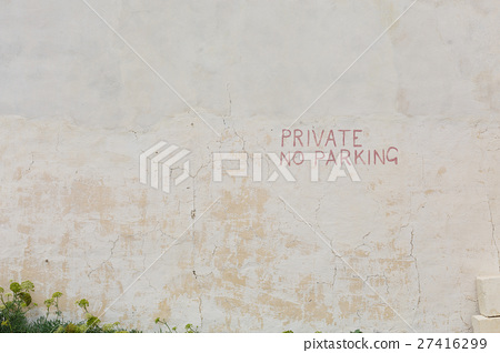 Old textured wall background 27416299