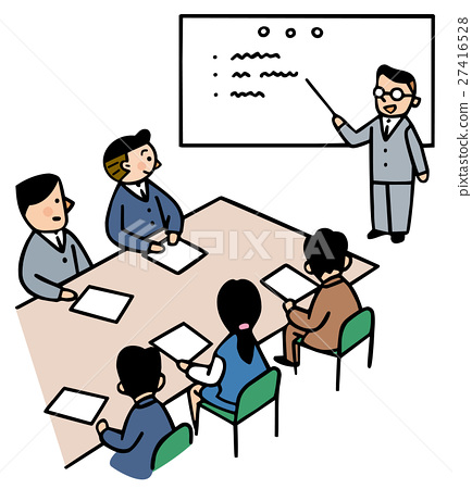 Business scene meeting 27416528