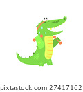 crocodile, alligator, fitness 27417162