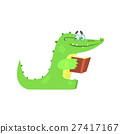 crocodile, alligator, book 27417167