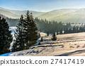landscape, forest, spruce 27417419