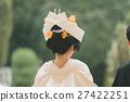japanese clothing, bride, white kimono 27422251