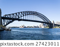 Iconic Sydney Harbour bridge 27423011
