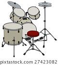 Cream percussion set 27423082