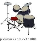 Dark percussion set 27423084