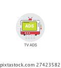 television, tv, vector 27423582