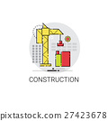 builder, construction, crane 27423678