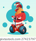Happy New 2017 Year Rooster Ride Electric Scooter 27423797