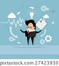 Business Man Curriculum Vitae Recruitment 27423930