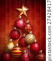 Christmas decorative baubles 27428417