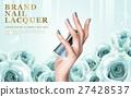 aquamarine nail lacquer ad 27428537