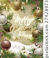 Merry Christmas template design 27428973