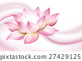 lotus flower background 27429125