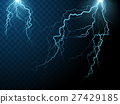 lightning effect elements 27429185