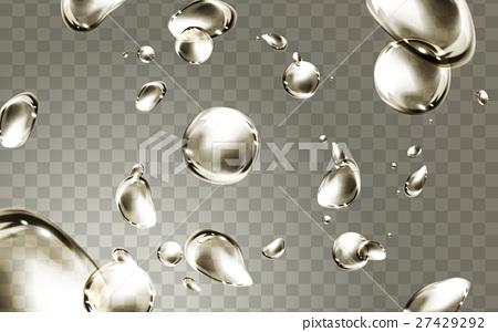 golden water drops 27429292