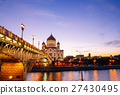 Christ the Savior Cathedral and Patriarchal Bridge 27430495