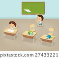โรงเรียน,ห้องเรียน,เล่น 27433221