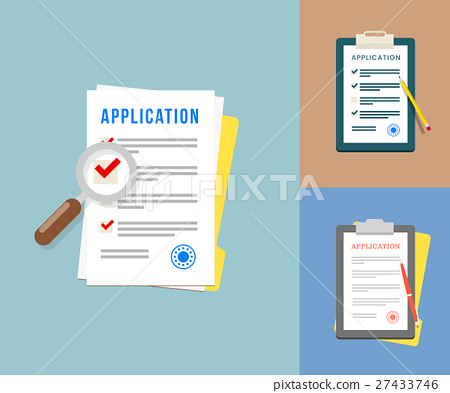 Vector Application Forms 27433746
