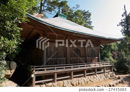 미야지마 미센의 고찰 大日堂 측면 히로시마 현 27435065