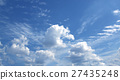 Blue sky white clouds Abstract nature 27435248