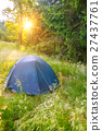 日出 帳篷 營地 27437761