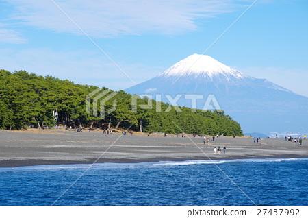 Miho no Matsubara和Mt. Fuji 27437992