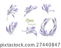 熏衣草 花朵 花 27440847