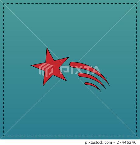 Meteor computer symbol 27446246