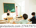 Young Student Giving A Presentation In Front Of The Class 27447973
