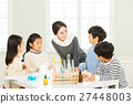 Young Students In Science Class With A Female Teacher 27448003