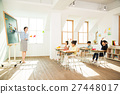 Young Students In Math Class With A Female Teacher 27448017