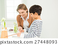 Young Student In Biology Class With A Female Teacher 27448093
